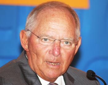 Finanzminister Dr. Wolfgang Schäuble (CDU)