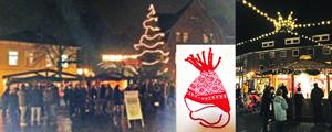 Weihnachtsmarkt auf dem Rondell, Kuschelmütze aus Viljandi!