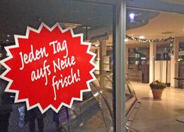 Frische Backwaren aus dem Back-Office der Stadtwerke Ahrensburg!