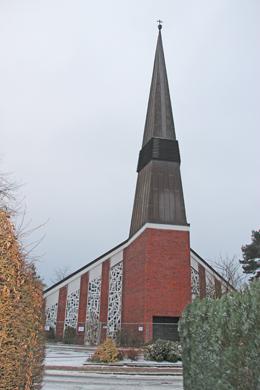 Kirche ganze Ansicht
