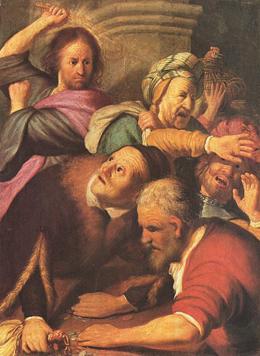 Rembrandt: Immobiliengeschäfte in der Kirche