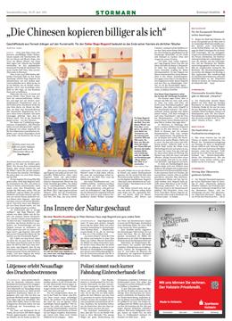 """""""Eingriff in den Kunstmarkt"""""""