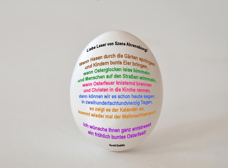 Ostern Ist Ein Gedicht Wenn Sie Auf Das Ei Klicken
