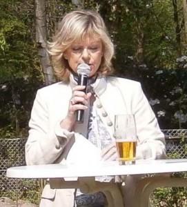 Susanne Philipp (CDU) - hier bei einer bürgermeisterlichen Vertretung beim Bürgerverein