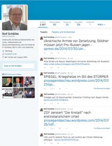 Ein Rentner verbreitet massiv russische Propaganda auf Twitter!