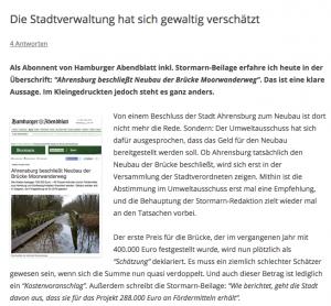 Szene Ahrensburg am 14. November 2014