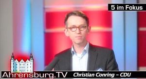Christian Conring (CDU), Vorsitzender Finanzausschuss