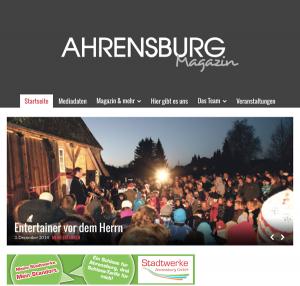 Dezember 2014: Großer Bericht aus Bargteheide über einen dortigen Pfarrer