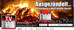 Vulkanausbruch in Ahrensburg...?