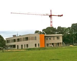 Das Peter-Rantzau-Haus im Bau – mit Steuergeldern finanziert
