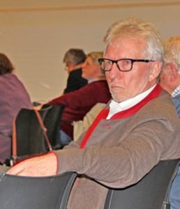 Landrat Klaus Plöger als Besucher einer Stadtverordneten-Versammlung