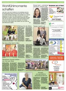"""""""Ahrensburger Zeitung"""" in der Stormarn-Beilage vom Hamburger Abendblatt"""