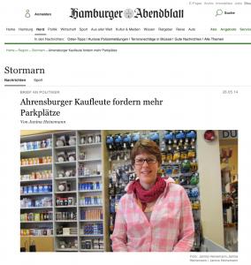 aus: Hamburger Abendblatt 2014