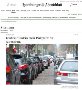 aus: Hamburger Abendblatt 2015