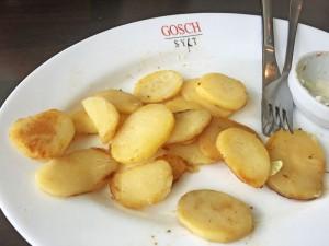 Gosch: Bratkartoffeln, die den Boden der Pfanne nicht beruhrt haben!