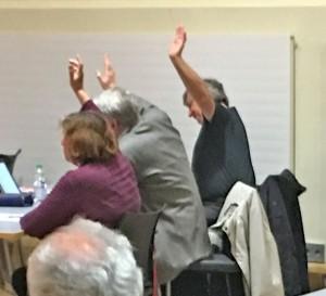 Stadtverordneten-Versammlung; Der AWO-Vorstand stimmte über AWO-Belange ab!