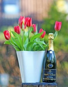 Hab' ich mir heute selber gekauft: Blumen & Champagner