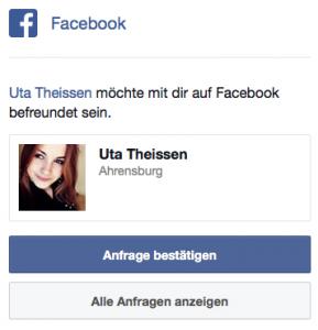 aus: Facebook