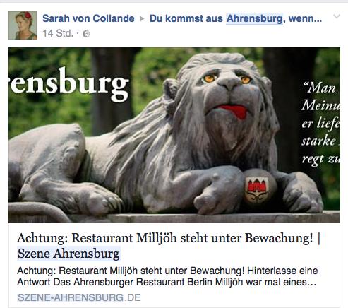 berlin milljöh ahrensburg