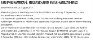 aus: ahrensburg24 (Partner: Stadtwerke Ahrensburg)