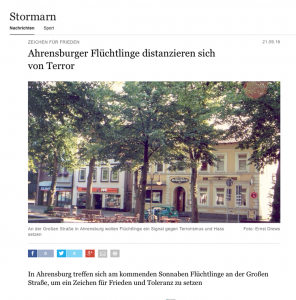 aus: Hamburger Abendblatt Stormarn online