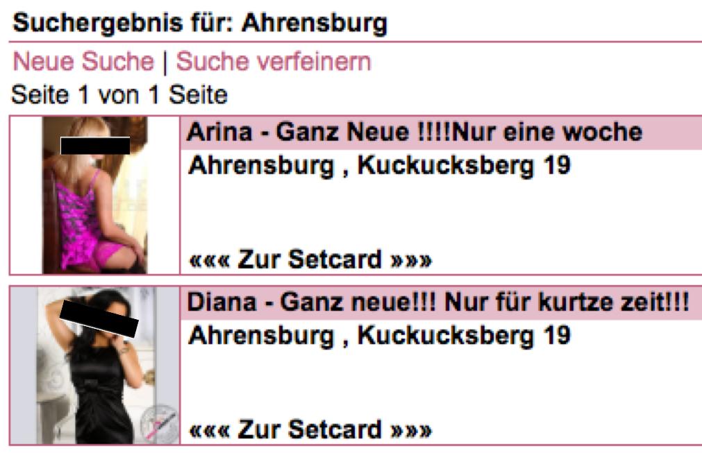 Whore aus Ahrensburg