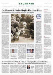 """""""Wiedervorlage"""" aus: Hamburger Abendblatt"""