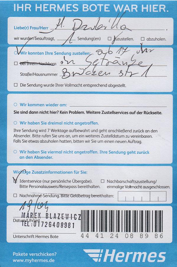 Hermes Ahrensburg