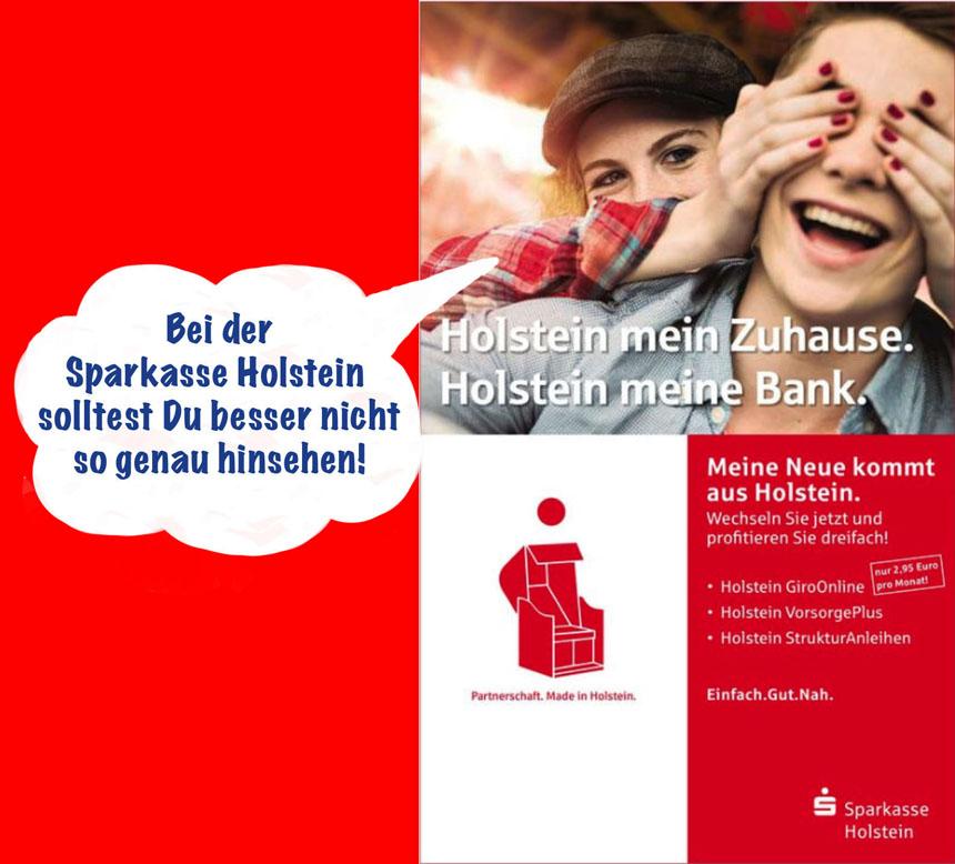 Sparkasse Holstein: Augen zu und durch – oder was…?   Szene Ahrensburg